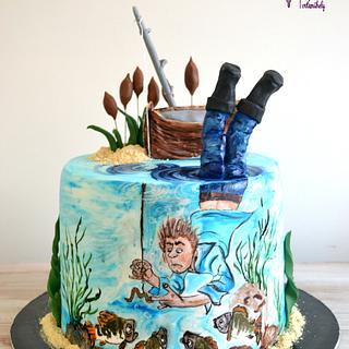 Fisherman cake - Cake by Krisztina Szalaba