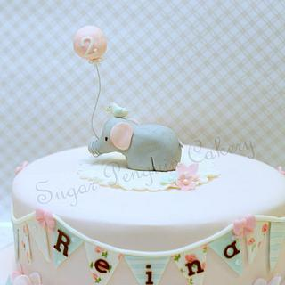 Style Me Gorgeous' elephant and balloon