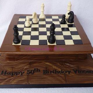 Chess - Cake by YummyCakesBySue