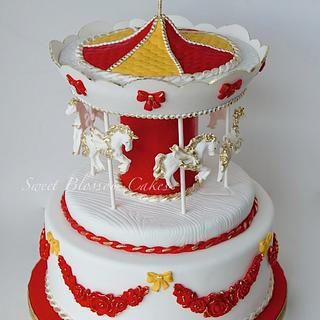Carousel cake - Cake by Tatyana