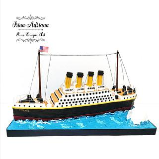 Titanic Cake - Cake by Irina-Adriana