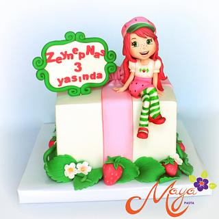 Strawberry Shortcake Cake  - Cake by Maya Suna