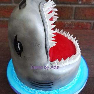 Shark Attack - 6th Birthday, June 2013 - Cake by Cakes by Ade