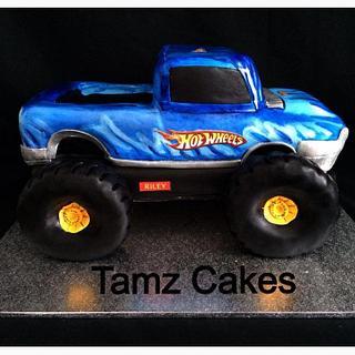Monster Truck Cake - Cake by Tammy