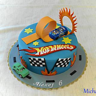 Hot Wheels - Cake by Mischell