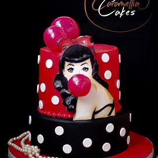 Coquette  - Cake by Kremena Boteva