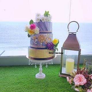 Wedding cake  - Cake by Shorna's Cake Corner