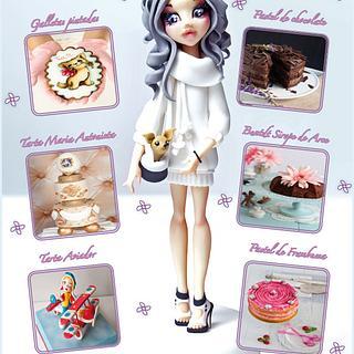 Pasteles de ensueño 7 in English - Cake by Pasteles de ensueño magazine