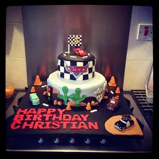 Cars cake - Cake by Big Cake Adventure