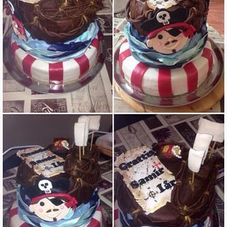 Piratecake - Cake by helenfawaz91