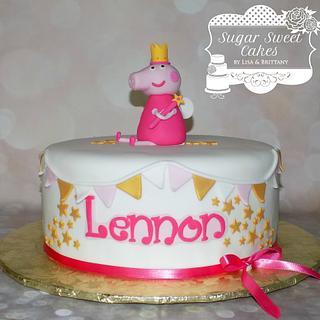 Princess Peppa Pig - Cake by Sugar Sweet Cakes