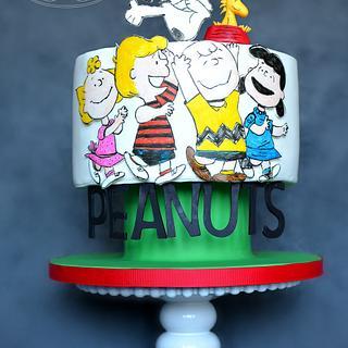 Peanut's 65th Birthday Collaboration Cake