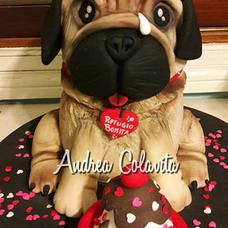 Dog cake - Cake by Andrea Colavita