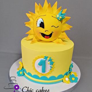 Sunshine cake...