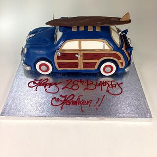 Classic Woody - Cake by Sweet Traders