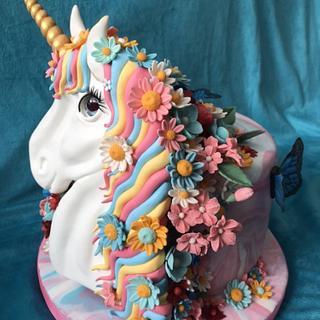 Sweet unicorn cake - Cake by Zuzana