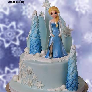 Frozen -Elsa theme Cake - Cake by Othonas Chatzidakis