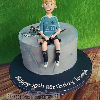 Joseph - Dublin GAA Hurling Birthday Cake