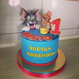 Tom and Jerry cake - Cake by Tortalie