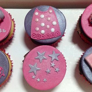 Sleep-over/Slumber/Pyjama Party Cupcakes  - Cake by MariaStubbs