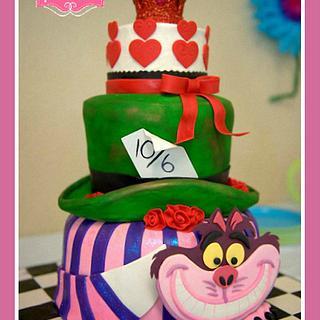Arwen's Onederland 1st Birthday cake