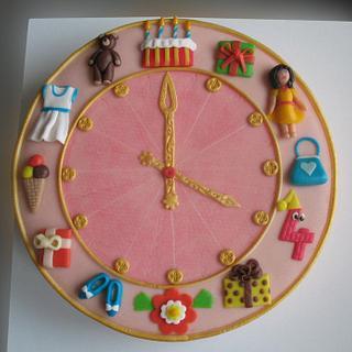 Clock 4th Birthday