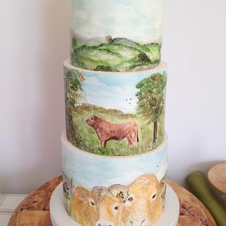 Farming Cake