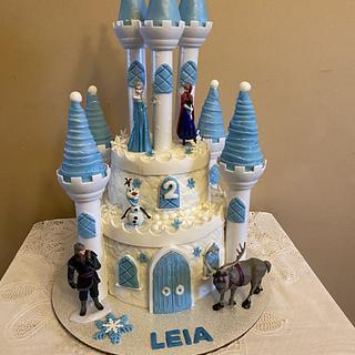 Frozen Castle for Leia