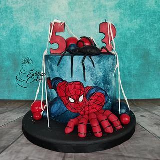 Spiderman cake - Cake by Zaklina