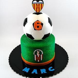 Pro malého fotbalistu - Cake by TartaSan - Damian Benjamin Button