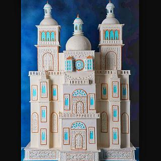 My 4 ft tall pastillage n royal icing palace