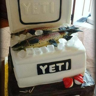 Catch of a Lifetime Groom's Cake - Cake by Angel Rushing