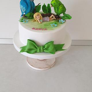 My parrots friends - Cake by Torturi Mary