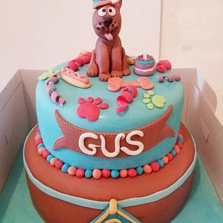 2 Tier Scooby Cake