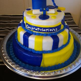 Graduation cake - Cake by Bronecia (custom cakes)