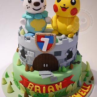 Pikachu cake~~ - Cake by Sweet Owl Cake and Pastry