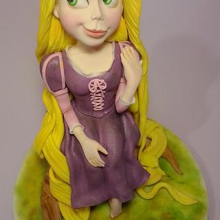 Rapunzel - Cake by Vincenza Rito - l'Arte nelle torte
