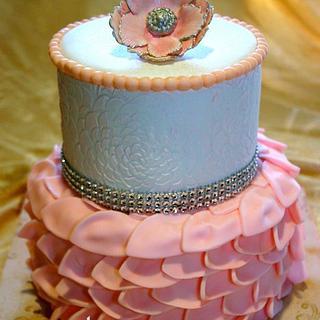Wedding Shower Cake - Cake by Chrissy Rogers