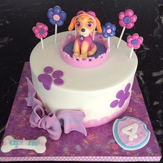Skye Pat Patrol cake