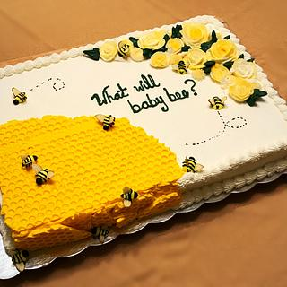 What will baby bee? - Cake by Wendy Army