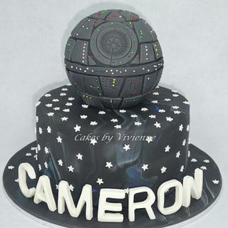 Death Star Birthday Cake - Cake by Cakes by Vivienne