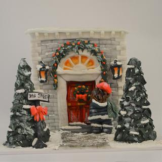 Christmas apartment Cake