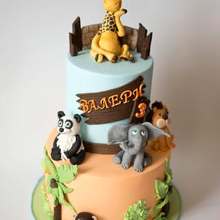 Zoo Cake - Cake by Tortilnica