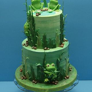 My Frog Cake