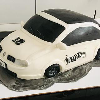 3D car cake