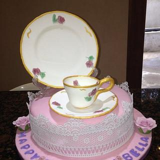 Perfect Tea Party Cake
