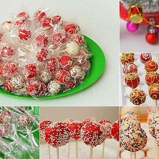 Holiday Cake Pops!