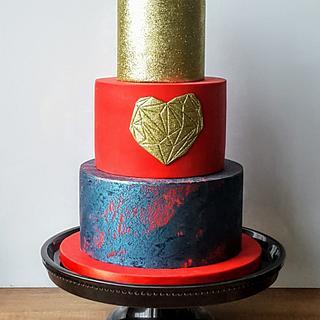 Full of LOVE cake <3