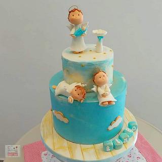 Bolo Batismo - Baptism Cake