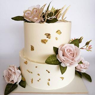 Wedding cake - Cake by Tortebymirjana